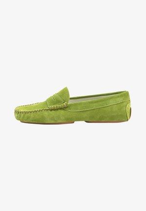 Mocassins - crosta emeraldo