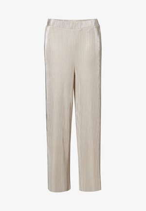 MILLIE - Trousers - silver