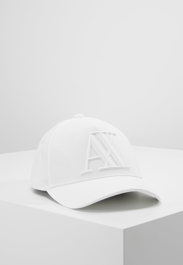 Armani Exchange - MAN'S HAT UNISEX - Cap - bianco