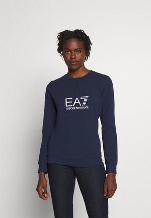 Sweatshirt - navy blue/silver