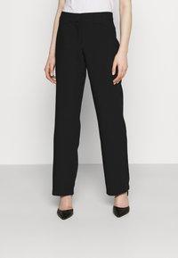 YAS - YASNUTEO PANT - Trousers - black - 0