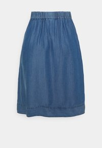 Culture - MINDY SKIRT - A-linjainen hame - light blue wash - 1