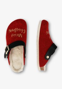 Genuins - SHETLAND XMAS - Slippers - rot - 2