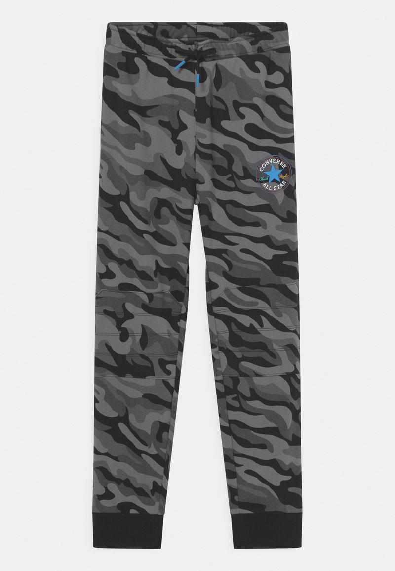 Converse - CAMO KNEE PATCH - Pantaloni sportivi - black