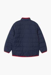 Finkid - VANUKAS UNISEX - Winter jacket - navy/red - 2