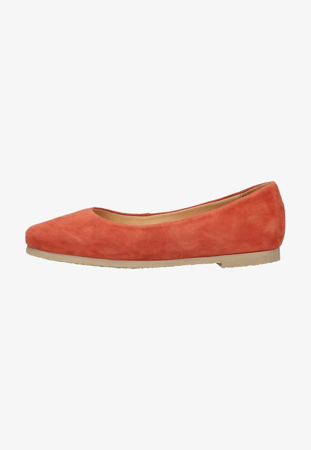 BARABA - Ballerina's - burnt orange