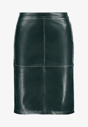 VIPEN - Pencil skirt - dark green