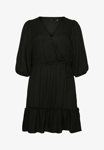 CURVE - Day dress - black