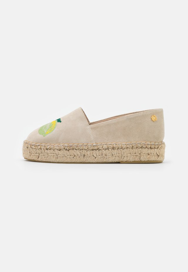 SUMMER - Espadrillot - lime light