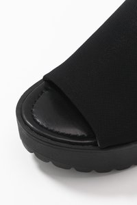 Madden Girl - CHUCKY - Heeled mules - black - 2