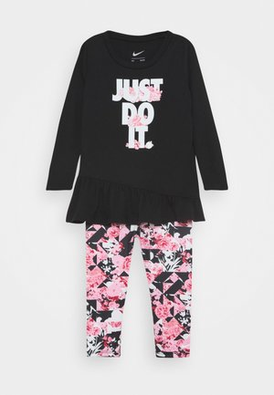 TOKYO FLORAL SET - Trousers - pink