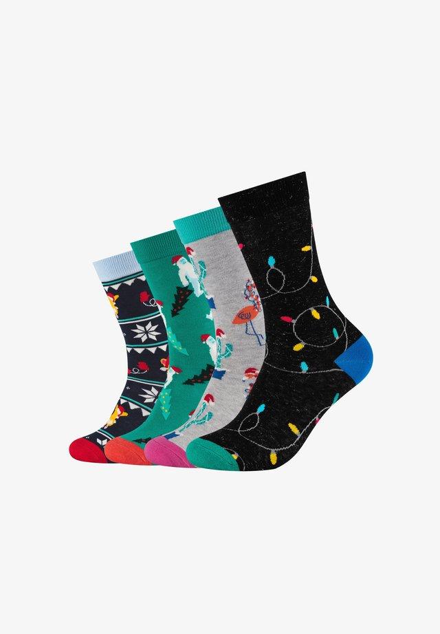 4ER PACK CHRISTMAS BOX - Socks - assorted