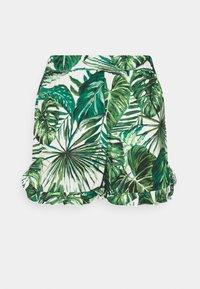 ONLY - ONLNOVA LIFE FRILL - Shorts - offwhite/multicoloured - 5