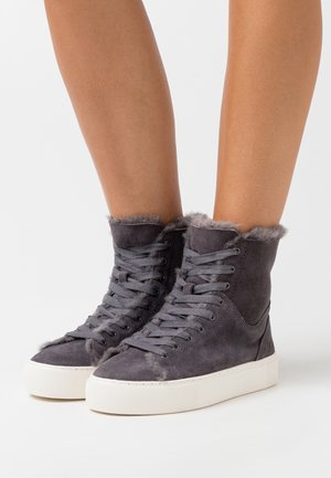 BEVEN - Baskets montantes - dark grey
