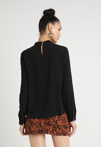 ONLY - ONLNEW MALLORY BLOUSE SOLID - Blouse - black - 2