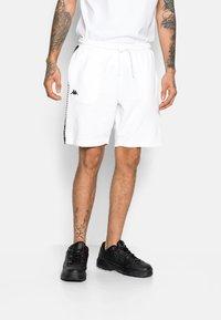 Kappa - ITALO - Pantaloncini sportivi - bright white - 0