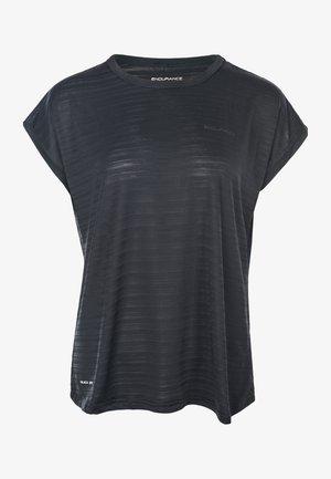 LIMKO - Print T-shirt - black