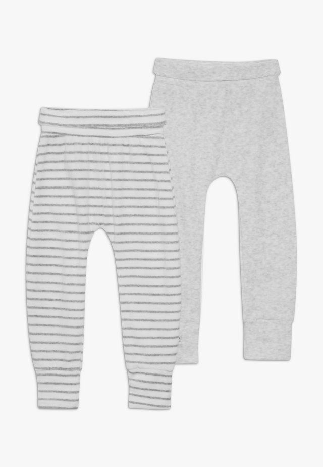 BABY NOVELTY 2 PACK - Trousers - grey