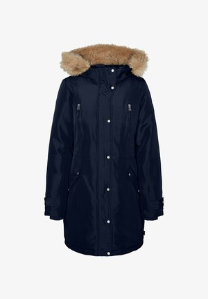 Winter coat - navy blazer