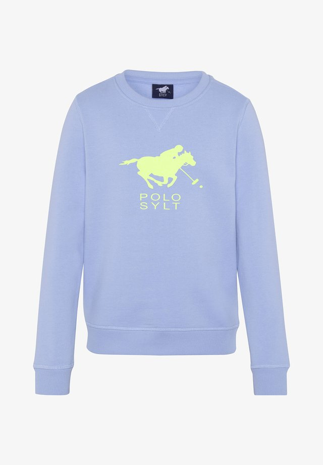 Sweatshirt - brunnera blue
