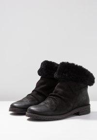 Felmini - CREPONA - Classic ankle boots - black - 4