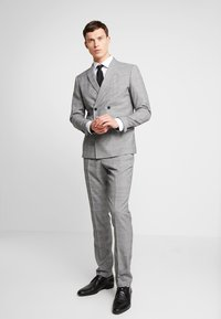 Lindbergh - CHECKED SUIT - Suit - grey - 1