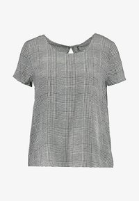 ONLY - ONLFIRST  - Blusa - cloud dancer/prince of wales - 4