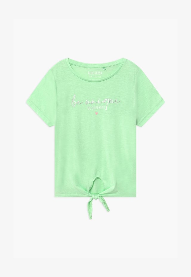 TEEN GIRL - T-Shirt print - hellgrün