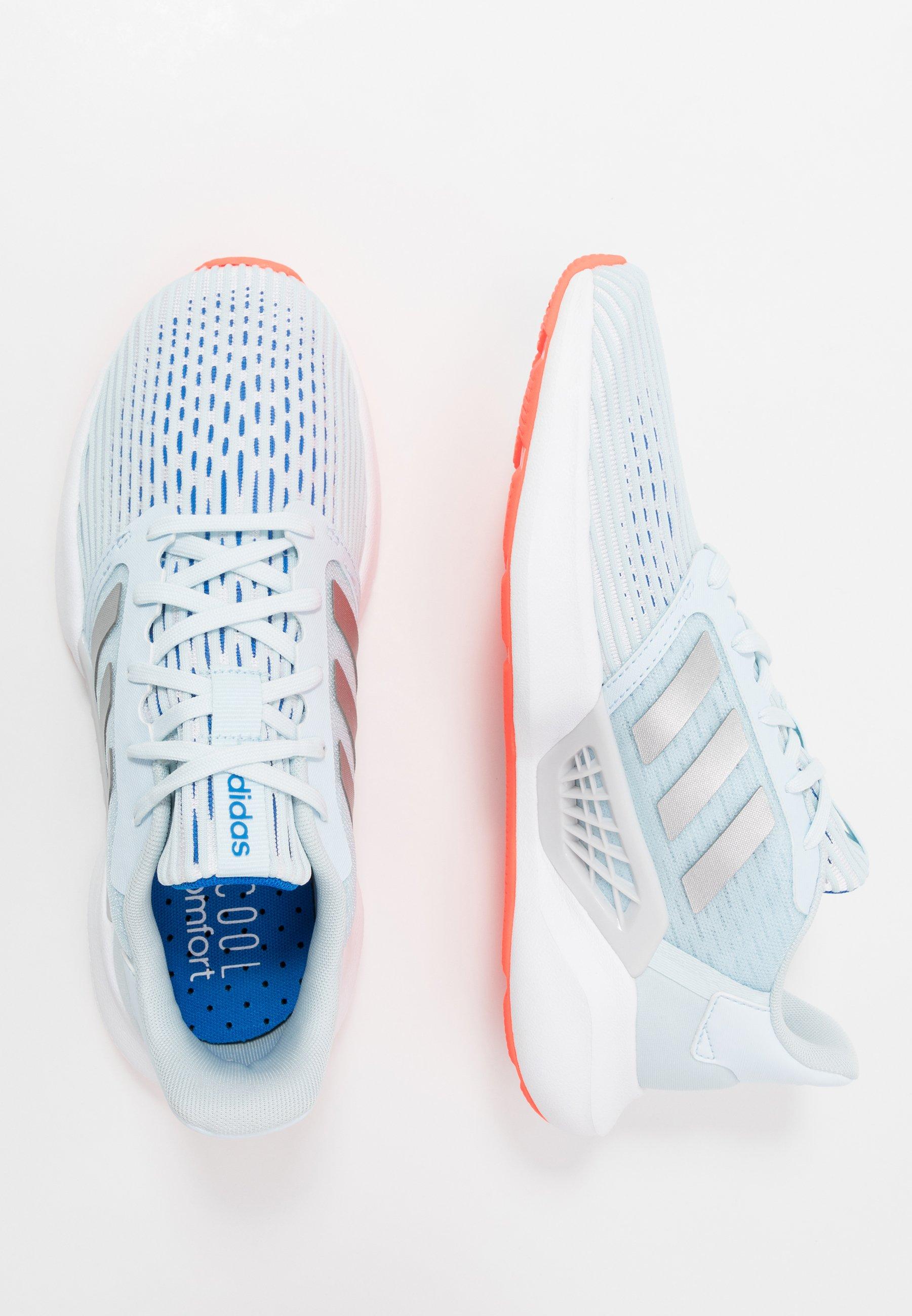adidas Performance FLUIDFLOW - Nøytrale løpesko - glow pink/sky tint/bright cyan