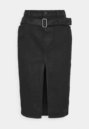 DE-FEDY-SP - Denim skirt - black