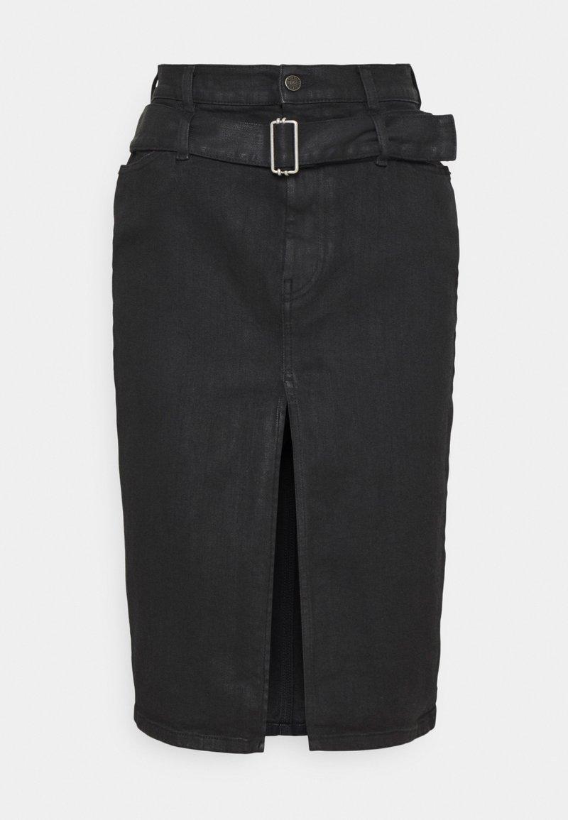 Diesel - DE-FEDY-SP - Denim skirt - black