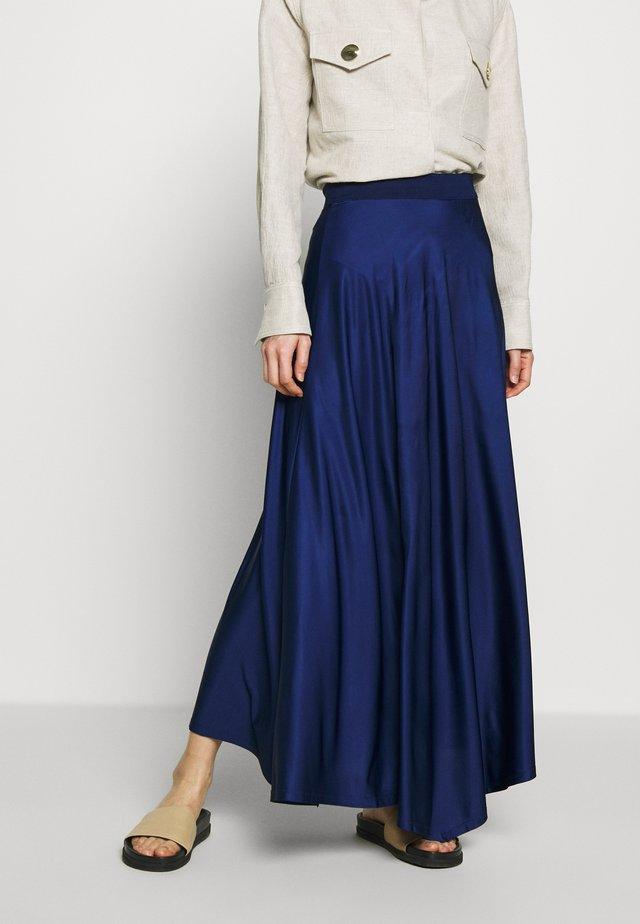 CAYENNE - Długa spódnica - ultramarine