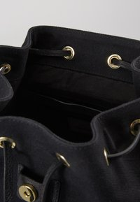 Anna Field - LEATHER/COTTON - Tagesrucksack - black - 3