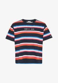 Tommy Jeans - Print T-shirt - marine - 0
