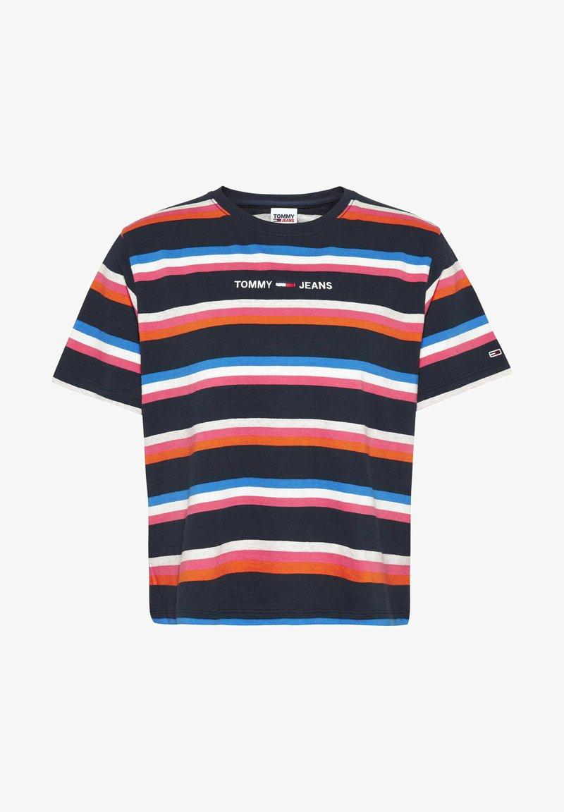 Tommy Jeans - Print T-shirt - marine