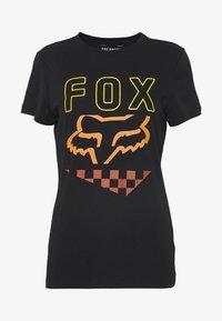 Fox Racing - RICHTER TEE  - T-Shirt print - black - 3