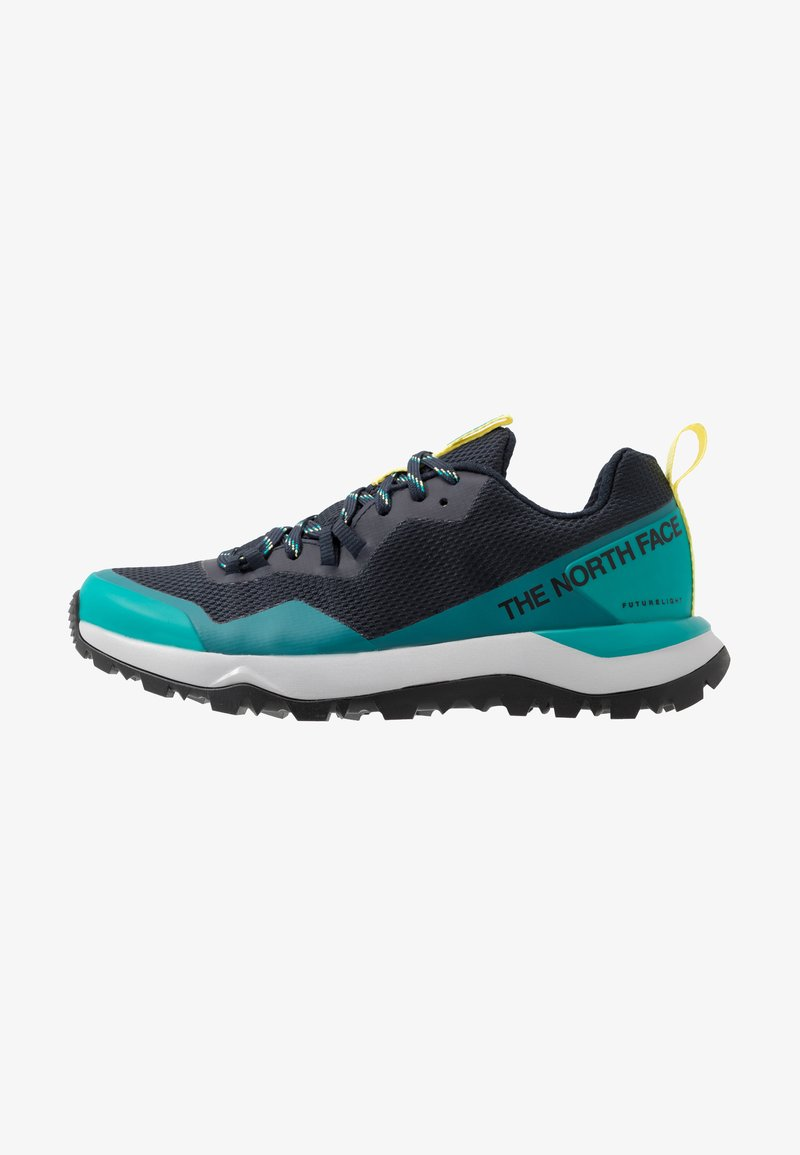 The North Face - W ACTIVIST FUTURELIGHT - Hiking shoes - urban navy/micro chip grey