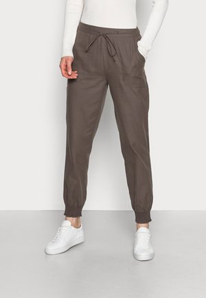 LINETTE - Trousers - soil brown