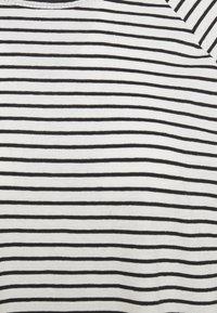 Selected Femme - SLFBELIVE TEE - Long sleeved top - black/snow white - 2