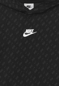 Nike Sportswear - REPEAT HOODIE - Collegepaita - black/dark smoke grey/white - 2
