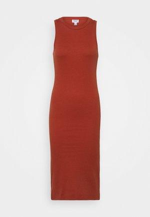 VMLAVENDER CALF DRESS - Jumper dress - chili oil