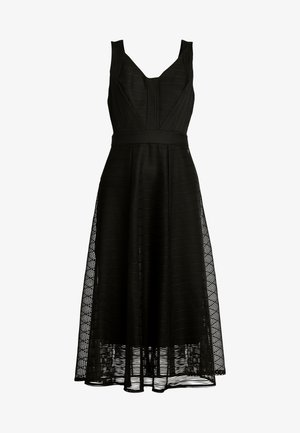 FLEUR DRESS - Vestito elegante - black