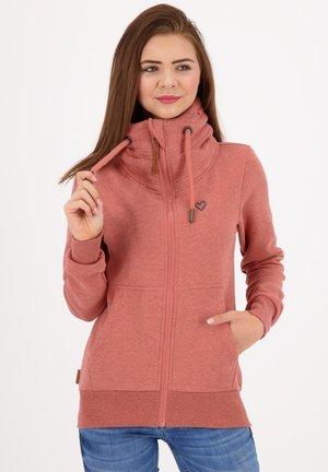 VIVIANAK - Zip-up hoodie - mahagonium