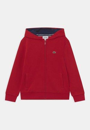 HOODED UNISEX - Zip-up sweatshirt - ladybird/navy blue