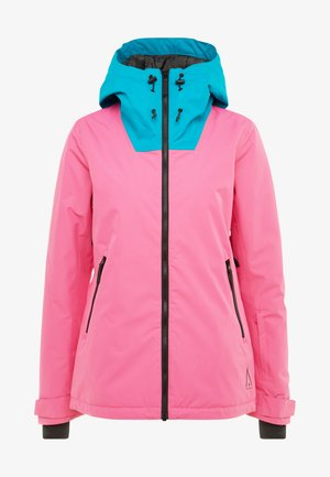 CAKE JACKET - Snowboardjakke - post it pink