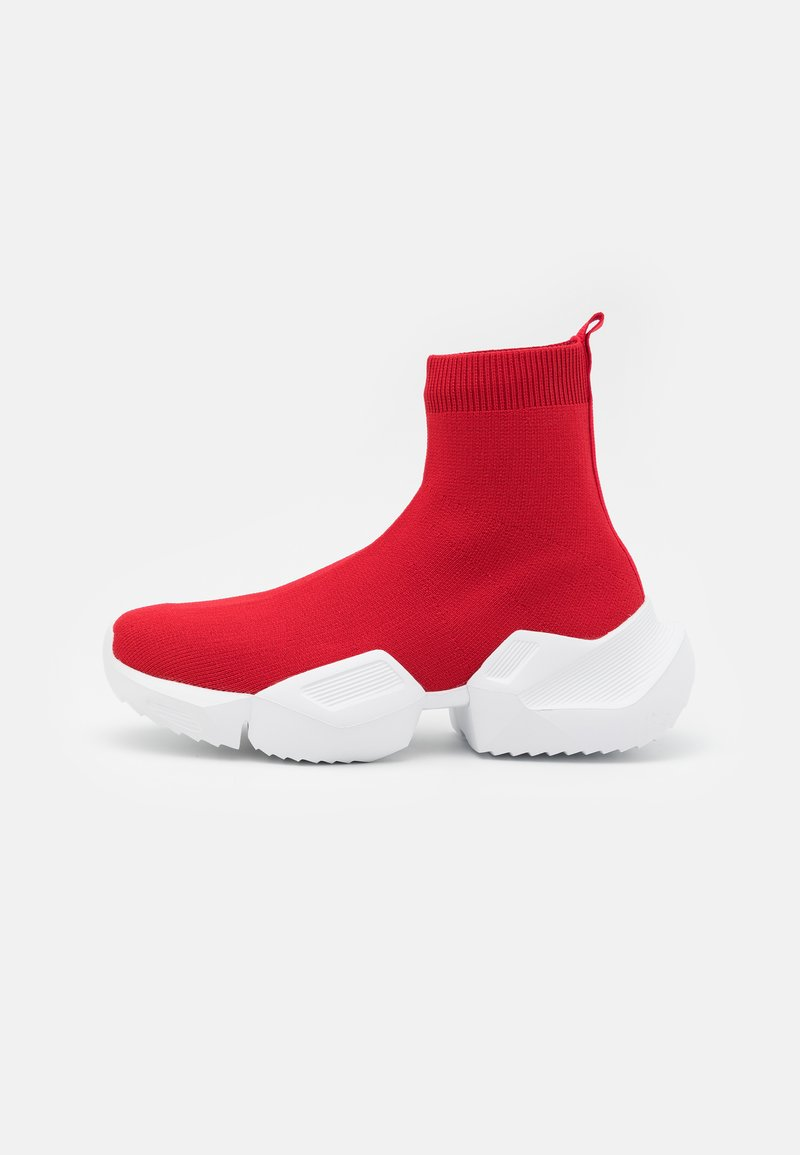 Versace Jeans Couture - High-top trainers - red