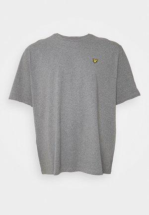PLUS PLAIN - Jednoduché triko - mid grey marl