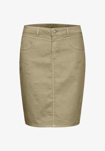 Pencil skirt - tannin