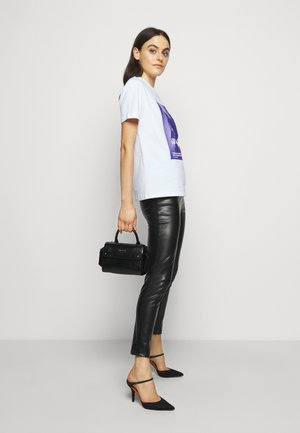 IKON MINI TOP HANDLE - Handbag - black