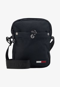 Tommy Jeans - TJM CAMPUS  MINI REPORTER - Across body bag - black - 1